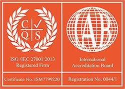 Nisyst is an ISO/IEC 27001:2013 Registered Firm - Certification Number: ISM7799220